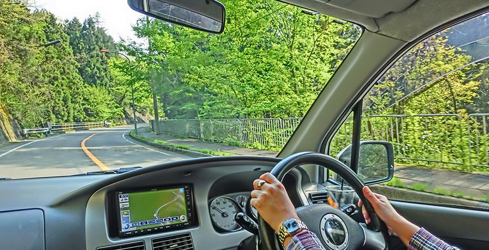 自動車のフロントガラス